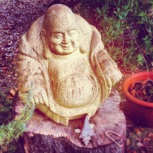 One of the garden Buddhas.