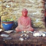 Another garden Buddha.